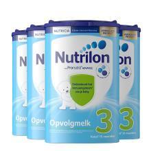 【4罐装】荷兰Nutrilon牛栏婴幼儿奶粉 3段(10个月以上)800g
