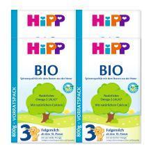 【四盒装】Hipp 德国 喜宝 有机奶粉 3段 10-12个月 800g