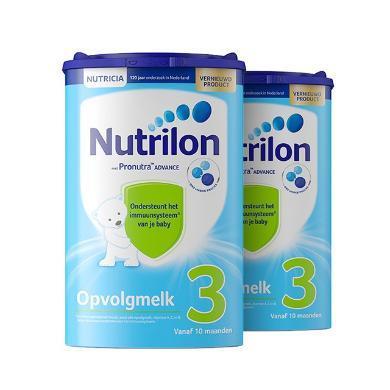 2罐*荷蘭牛欄 Nutrilon  奶粉3段(10~12個月)800g/罐