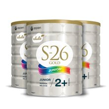 【澳洲空运直邮】澳洲Wyeth惠氏S-26金装4段婴儿奶粉2周岁以上 900g*3罐装