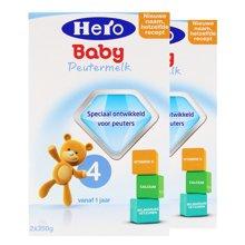 【2盒装】Hero Baby婴儿奶粉4段(12-24个月宝宝)(700g/盒)
