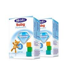 【2盒装】荷兰Hero baby奶粉4段(12-24个月宝宝)700g/盒