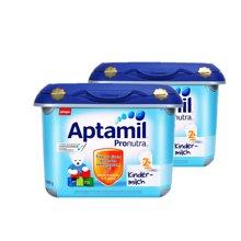 【2罐装】德国Aptamil 爱他美奶粉2+段 安心罐(2岁以上)800g