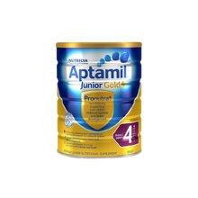 澳洲Aptamil爱他美金装婴幼儿奶粉4段(2周岁以上宝宝) 900g(2罐装)