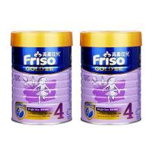 【2罐装】Friso港版美素佳儿金装版4段奶粉(3-6岁)900g