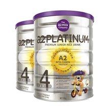 【2罐装】新西兰A2 白金版4段奶粉 3岁以上 900g