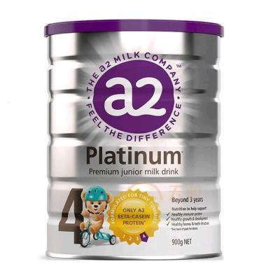 1罐*澳洲A2婴儿奶粉A2白金奶粉4段 适合3-6岁宝宝 900g【香港直邮】