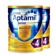【2罐】澳洲Aptamil爱他美金装4段奶粉(2岁以上)900g