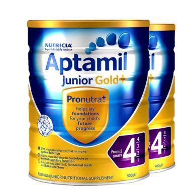 【2罐】澳洲Aptamil愛他美金裝4段奶粉(2歲以上)900g/罐 香港直郵