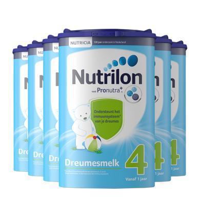 【6罐裝】荷蘭Nutrilon牛欄嬰幼兒奶粉 4段(1歲以上)800g