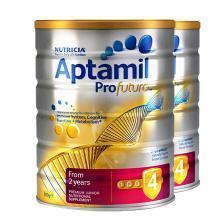 【2罐】澳洲Aptamil爱他美白金版4段奶粉(2岁以上)900g