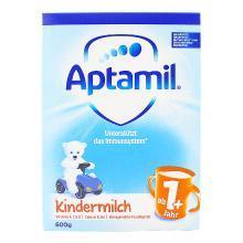 【支持購物卡】【2盒裝】德國愛他美Aptamil 嬰兒奶粉 1+段1-2歲600g*2 (新舊包裝隨機發)(荷蘭直郵)