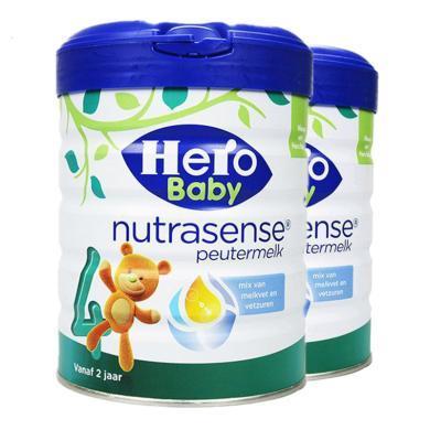 【2罐装】荷兰美素Hero Baby白金版婴幼儿奶粉 4段(2岁以上)700g
