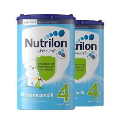 【2罐裝】荷蘭Nutrilon牛欄嬰幼兒奶粉 4段(1歲以上)800g