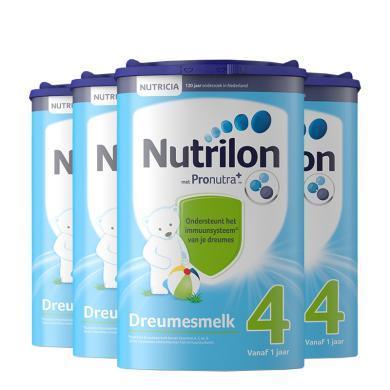 【4罐】荷蘭Nutrilon牛欄嬰幼兒奶粉 4段(1歲以上)800g