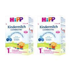 【2盒装】德国喜宝Hipp BIO益生菌奶粉1+段1岁以上 600g/盒