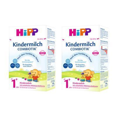 【2盒裝】德國喜寶Hipp BIO益生菌奶粉1+段1歲以上 600g/盒