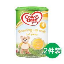 【2罐】英国Cow&Gate牛栏婴幼儿配方奶粉4段(2-3周岁宝宝)800g/罐