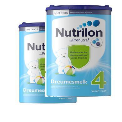【2罐】(保稅區)荷蘭Nutrilon牛欄奶粉4段(12-24個月寶寶) 800g/罐