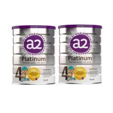 【2罐】新西兰A2 Platinum白金婴幼儿奶粉 4段(3岁以上)900g/罐