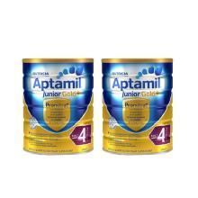 【2罐】澳洲Aptamil爱他美金装婴幼儿奶粉4段(2周岁以上宝宝) 900g/罐