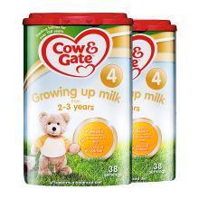 【2罐装】Cow & Gate 英国牛栏4段奶粉(2-3岁)800g