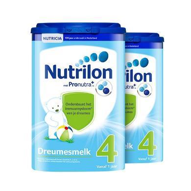 2罐*荷蘭牛欄 Nutrilon  奶粉4段(1歲以上)800g/罐