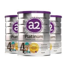 【支持購物卡】3罐*澳洲 A2白金裝奶粉4段(3歲以上)900g/罐