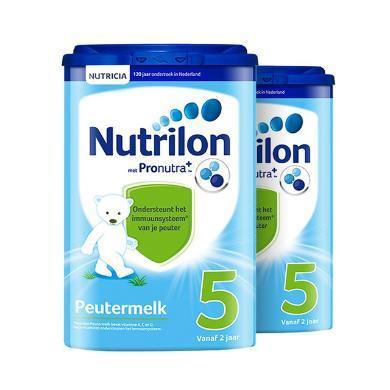 2罐*荷蘭牛欄 Nutrilon  奶粉5段(2歲以上)800g/罐