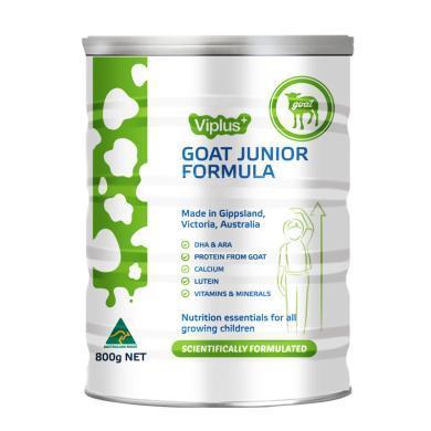 澳洲進口 Viplus維愛佳兒童配方山羊奶粉 DHA&高鈣 不易過敏800克(罐裝)
