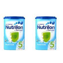 【2罐】(保税区)荷兰Nutrilon牛栏奶粉5段(24-36个月宝宝) 800g/罐(有效期至2020年8月)