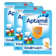 【3盒装】德国 Aptamil爱他美奶粉2+段(24个月以上宝宝) 600g/盒