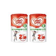 【2罐装】英国Cow&Gate牛栏婴幼儿配方奶粉4段(2-3周岁宝宝 800g)