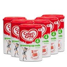 英国直邮 6罐 英国原装牛栏 4段 2-3岁 奶粉800g
