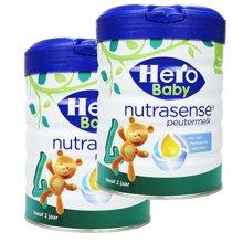 【2罐装】荷兰Hero Baby 天赋力奶粉白金版4段(2岁以上)700g/罐