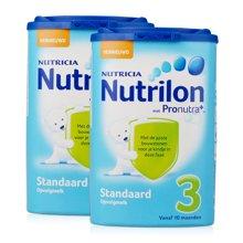 【2罐装】荷兰Nutrilon 牛栏婴儿奶粉3段(10个月+) 800g/罐