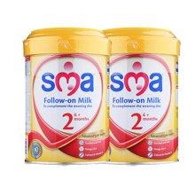 英国直邮 2罐 英国惠氏婴幼儿牛奶粉 800g/罐 2段6-12个月