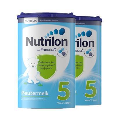 【2罐裝】荷蘭Nutrilon牛欄嬰幼兒奶粉 5段(2歲以上)800g