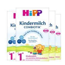 【4盒】德国HiPP喜宝益生菌有机婴幼儿奶粉 1+段(1岁以上)600g