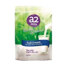 【澳洲】a2 速溶全脂高钙成人奶粉 营养牛奶1kg