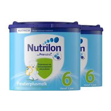 【2罐裝】荷蘭Nutrilon牛欄嬰幼兒奶粉  6段(3歲以上)400g
