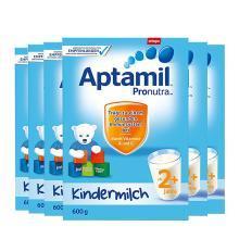 【6罐装】德国Aptamil爱他美婴幼儿奶粉 2+段(2岁以上)600g 保质期19年12月
