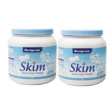 【2罐】澳洲Maxigenes美可卓成人脫脂奶粉藍妹子1kg/罐
