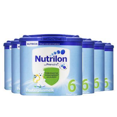 【支持購物卡】(6罐裝)荷蘭直郵 荷蘭牛欄奶粉Nutrilon 6段 3歲以上 400g/罐*6罐
