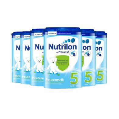 【支持购物卡】【6罐装】 荷兰牛栏奶粉Nutrilon 5段 2岁以上 800g/罐*6罐(荷兰直邮)
