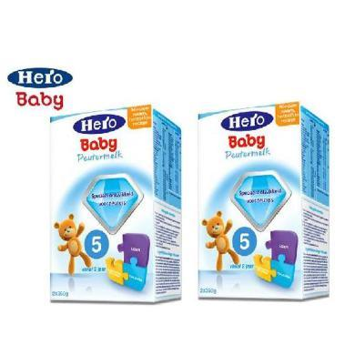 【2盒】荷蘭Hero Baby天賦力奶粉5段(2周歲以上寶寶)【保稅區發貨】700g/盒