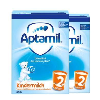 【2罐裝】德國Aptamil愛他美嬰幼兒奶粉 2+段(2歲以上)600g