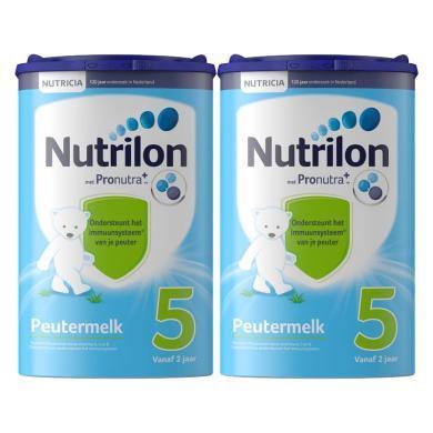 【支持購物卡】2罐* 荷蘭Nutrilon牛欄 嬰幼兒奶粉5段 800g(12-24個月)新版   直郵