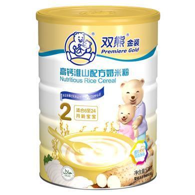 雙熊高鈣淮山配方奶米粉(528G)