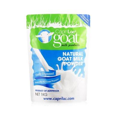 【海外直郵】澳洲CapriLac羊奶粉 天然全脂羊奶 易消化易吸收 A2山羊蛋白 (適合6歲以上)1kg*1袋裝